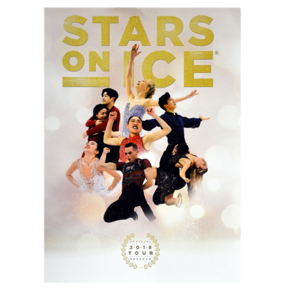 2018 Stars on Ice Tour Program