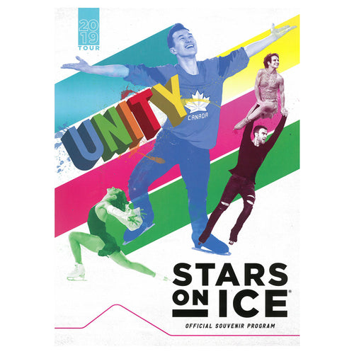 2019 Stars on Ice Canada Tour Program