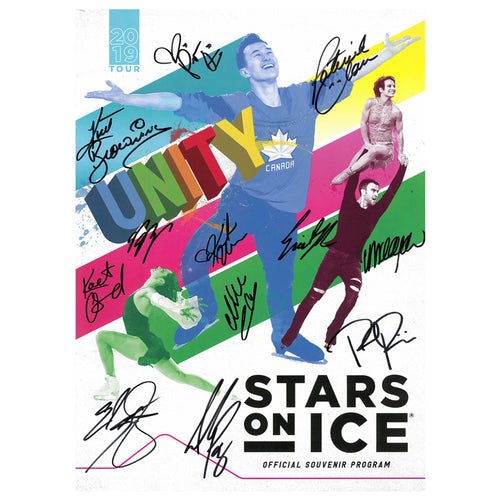 2019 Stars on Ice Canada Tour Program - Autographed