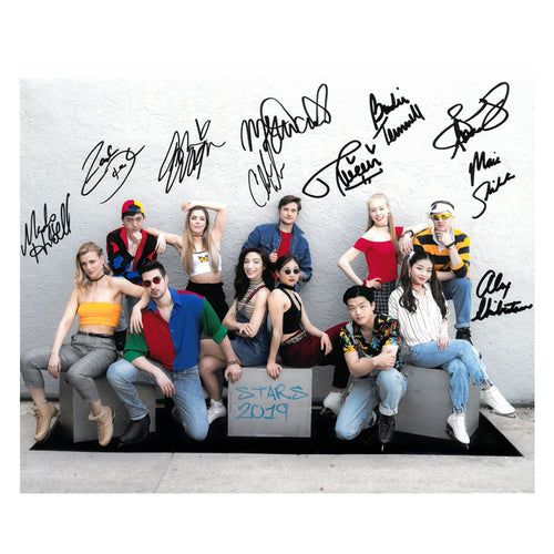 2019 Stars on Ice Autographed Cast Photo