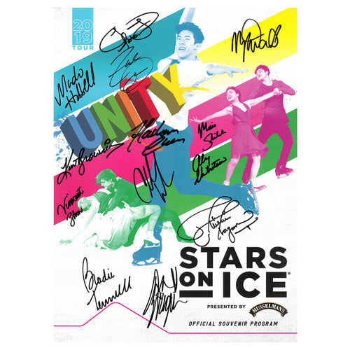 2019 Stars on Ice Tour Program - Autographed