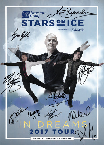 2017 Stars on Ice Tour Program - Canada