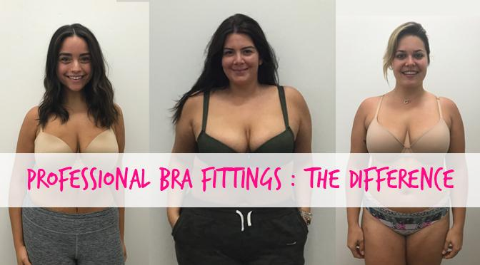 What a difference a bra fitting makes...