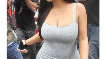 Kim Kardashian's boobs are how big?!