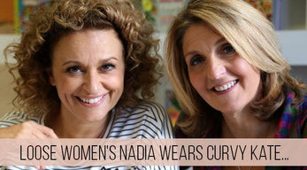 Loose Women's Nadia Sawalha Wears Curvy Kate...