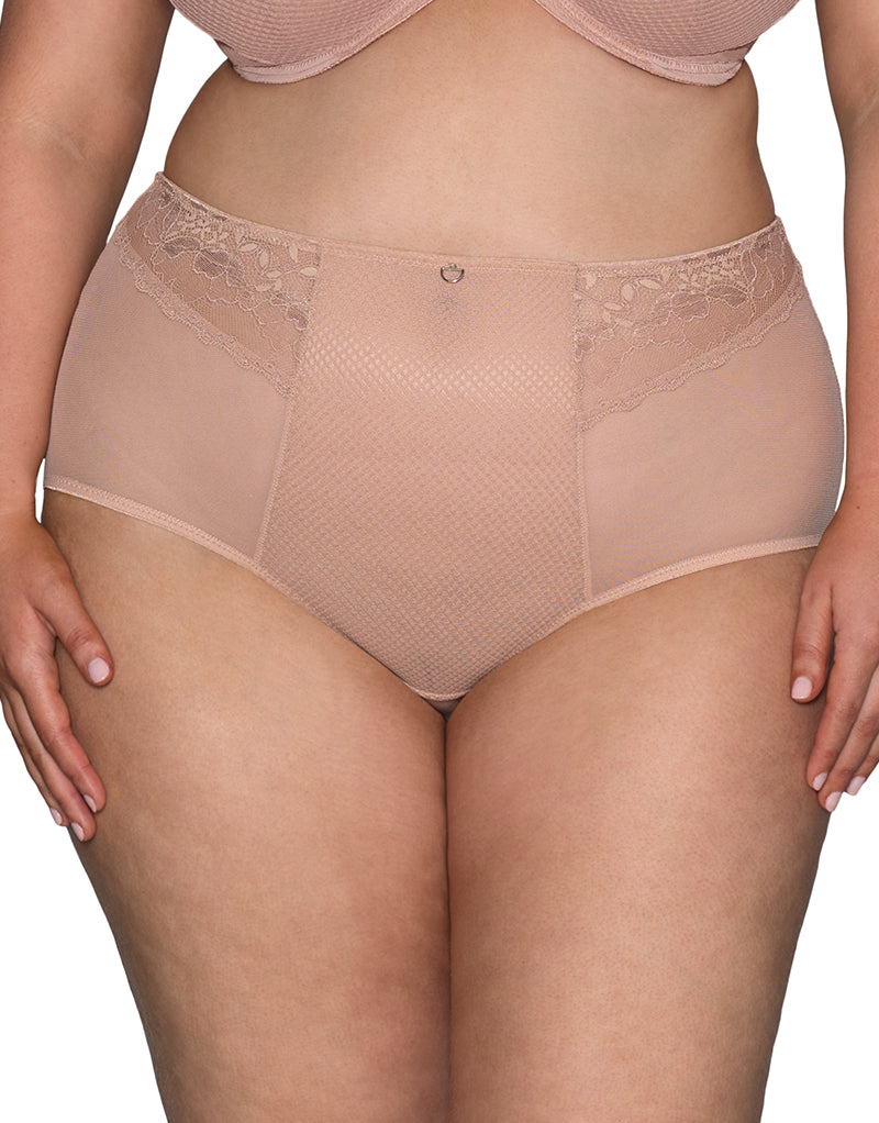 Curvy Kate DelightFull High Waist Brief Latte