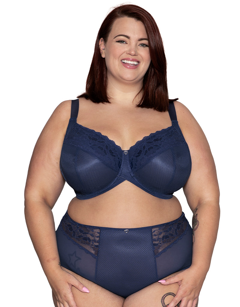 Curvy Kate DelightFull Full Cup Bra Denim Blue