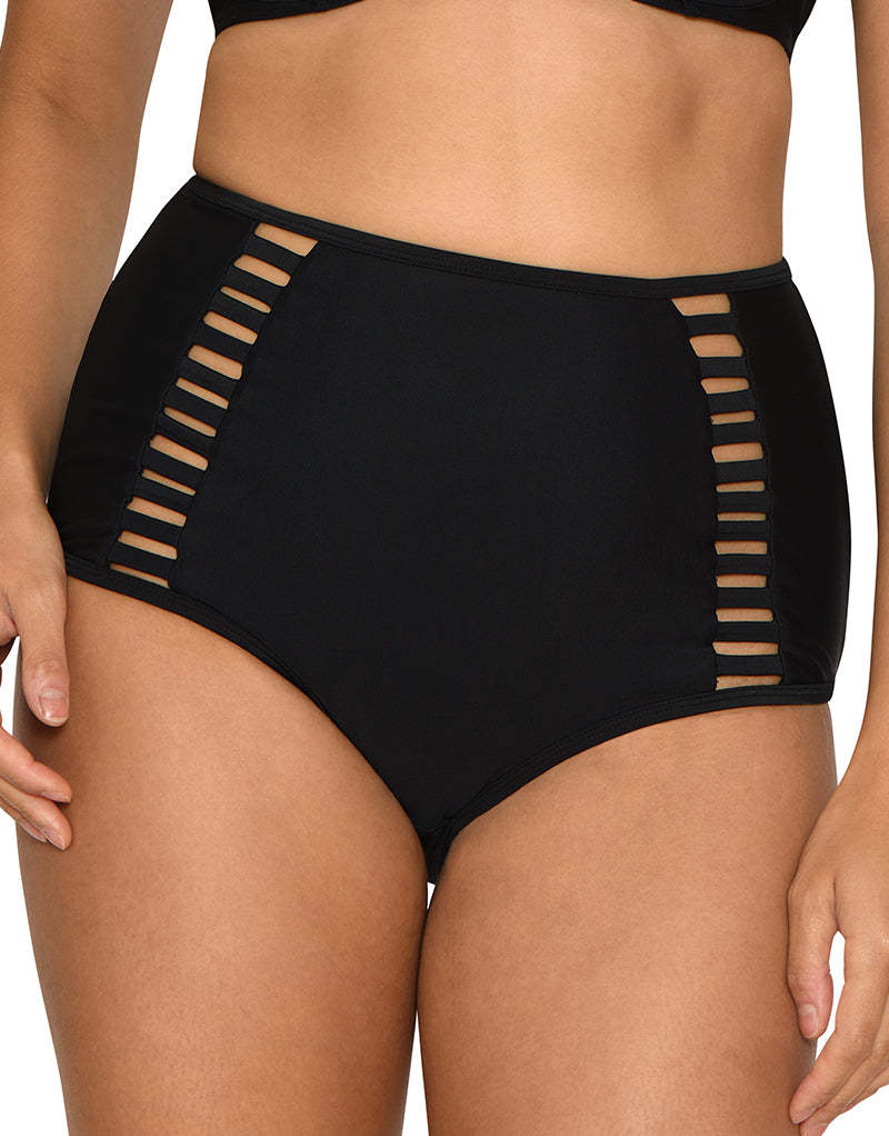 Curvy Kate Maya High Waist Bikini Brief Black