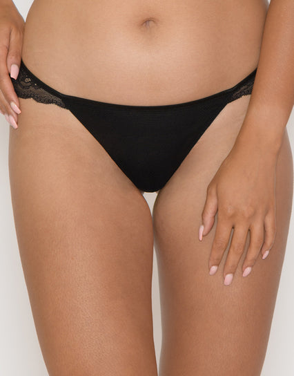 Curvy Kate In Love with Lace Brazilian Brief Black