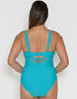 Curvy Kate Sheer Class Plunge Swimsuit Turquoise