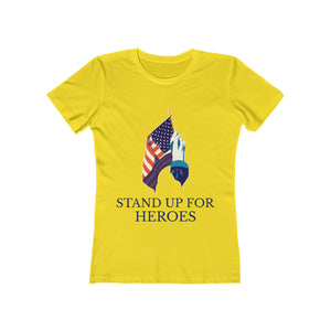 Stand Up For Heroes | Super Soft Women's Tee