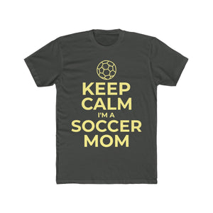 Keep Calm I'm a Soccer Mom With Ball - PremiumTees.Co