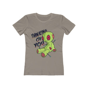 Thinking Of You Voodoo Doll | Super Soft Women's Tee