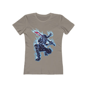 Sick Blue Ninja | Super Soft Women's Tee