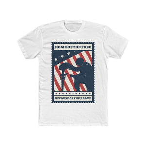 Home Of The Free Because Of The Brave | Unisex Shirt | Veterans - PremiumTees.Co