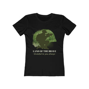Land of the Brave | Super Soft Women's Tee