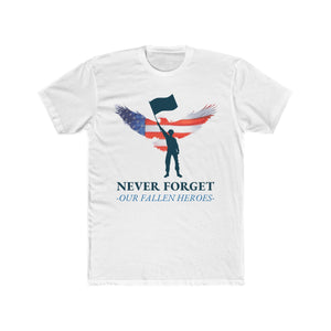 Never Forget Our Fallen Heroes | Unisex Shirt | Veterans - PremiumTees.Co
