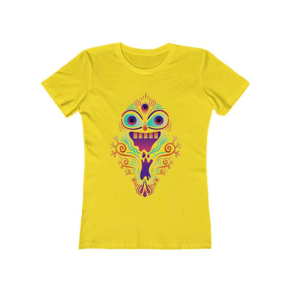 Psychedelic Monster | Super Soft Women's Tee