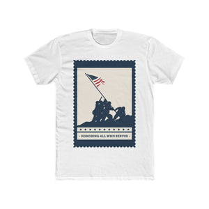 Honoring All Who Served | Unisex Shirt | Veterans - PremiumTees.Co
