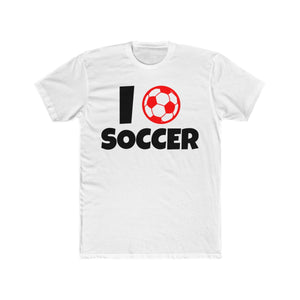 I Ball Heart Love Soccer | Soccer Tee - PremiumTees.Co