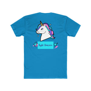 Agile Unicorn - Cotton Tee (Design on the Back) | Agile Tee - PremiumTees.Co