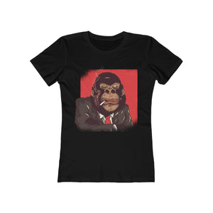Smoking Gorilla | Super Soft Women's Tee