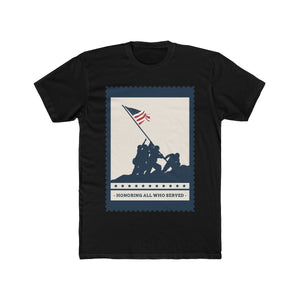 Honoring All Who Served | Super Soft Men's Tee