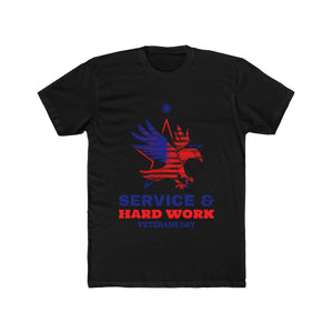 Service and Hard Work | Super Soft Men's Tee
