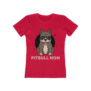 Pitbull Mom | Super Soft Women's Tee