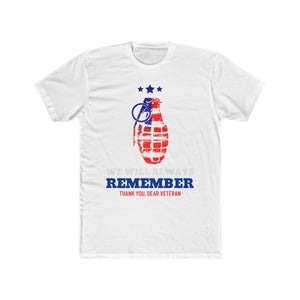 We Will Always Remember, Thank You Dear Veteran | Unisex Shirt | Veterans - PremiumTees.Co