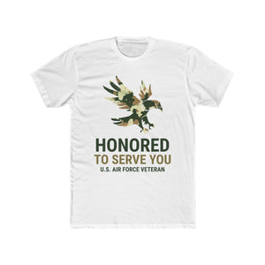 Honored To Serve You, US Air Force Veteran | Unisex Shirt | Veterans - PremiumTees.Co