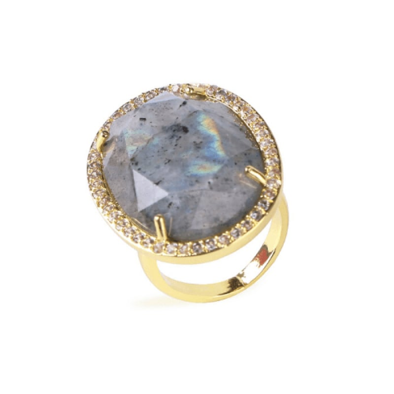 Bague or Labradorite