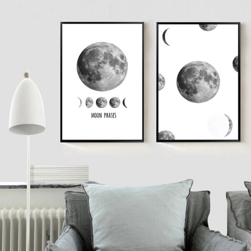 Affiche Moon Phases - Mystic Soul