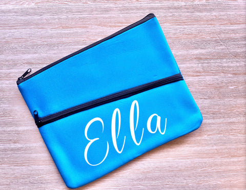 Personalised Large Pencil Case