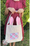 Bunny Tote Bag with pocket