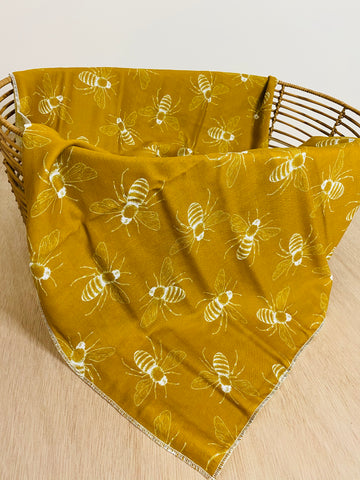 Honey bees - Muslin Wrap