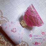 Ballerina pink lace