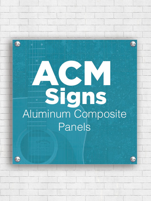 Custom Aluminum Composite Signs