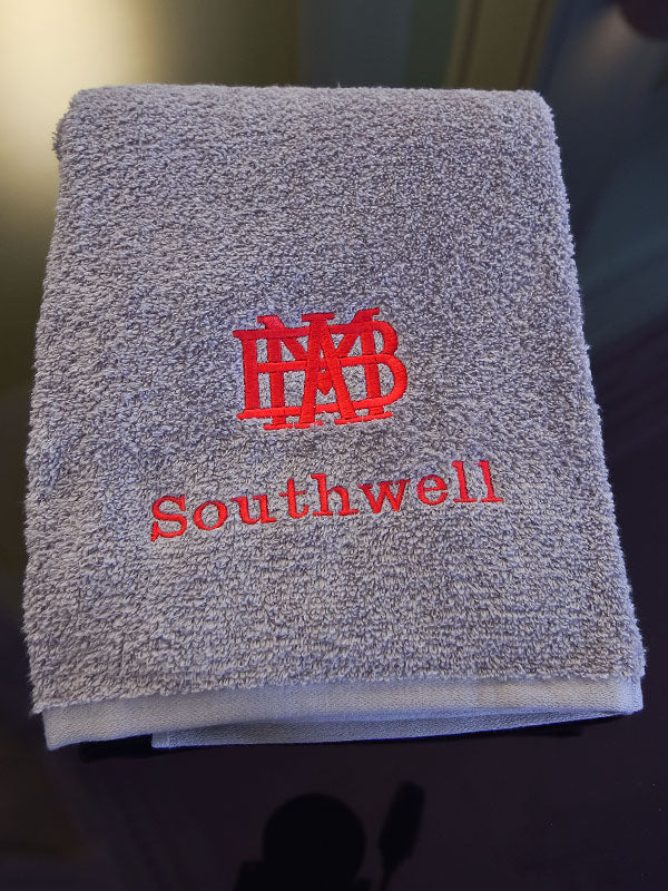 Custom Logo Monogrammed Towels