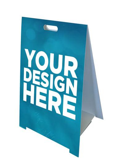 Custom Fold-A-Frame Sign