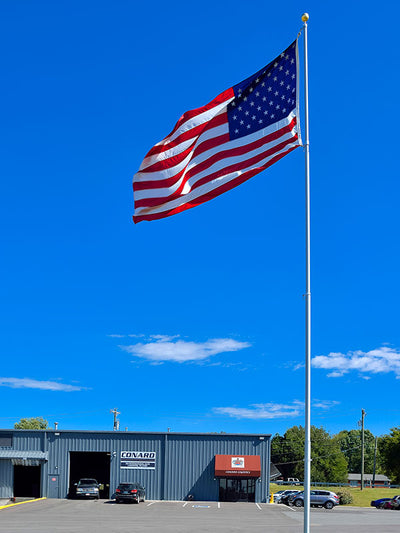 Outdoor Flagpoles