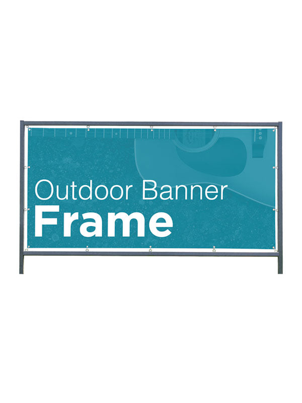 Outdoor Banner Frame