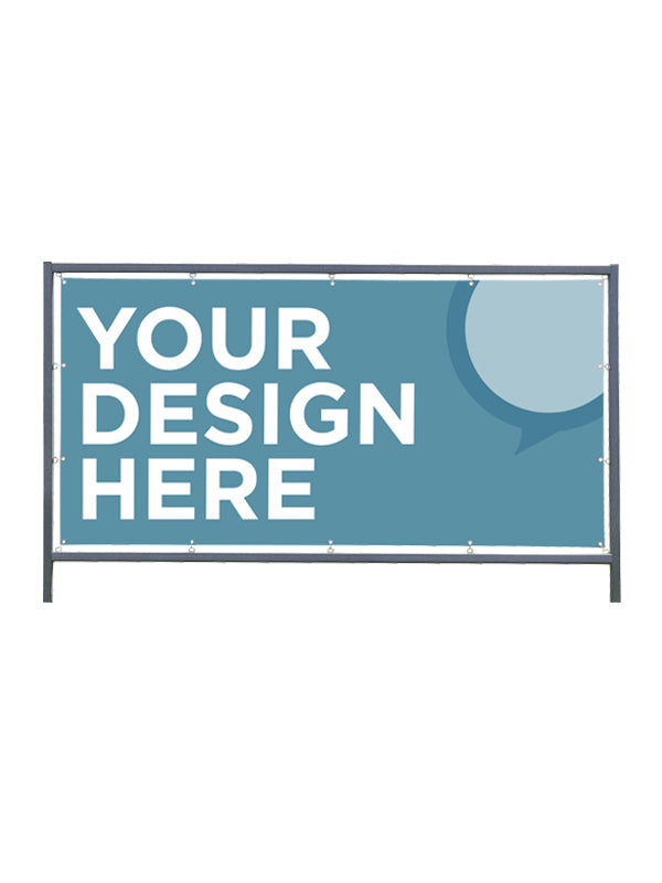 Custom Outdoor Banner for Frame Display