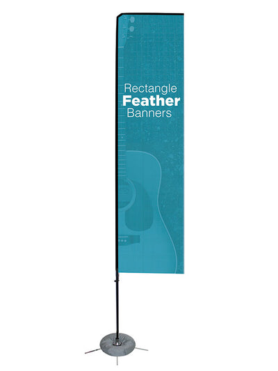 Custom Rectangle Feather Flag