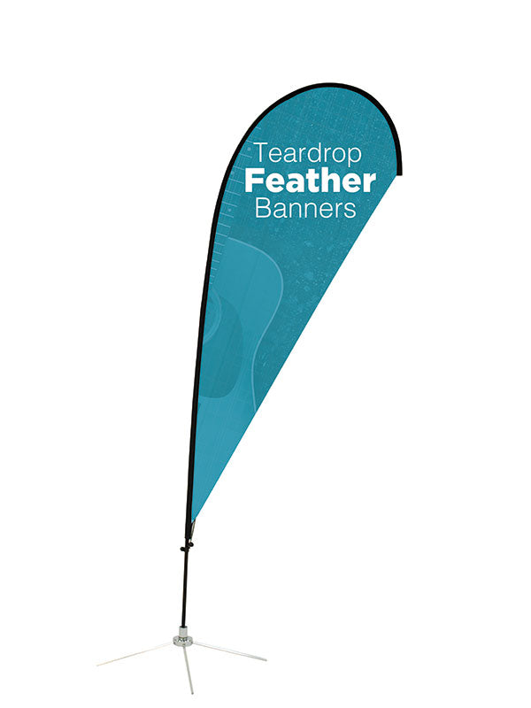 Custom Teardrop Feather Flag
