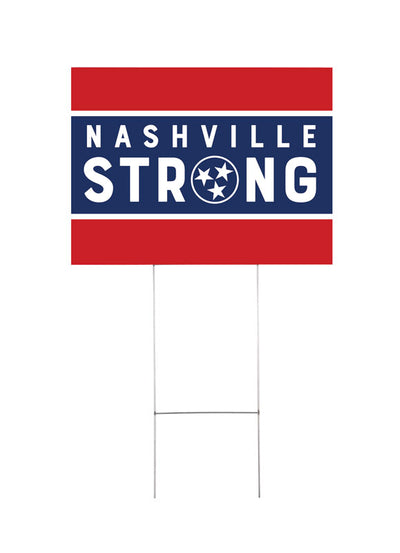 Nashville Strong Yard Sign 1
