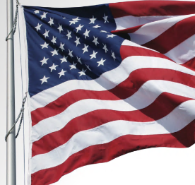 Sewn U.S. Flag Polyester Durable Outdoor Flag