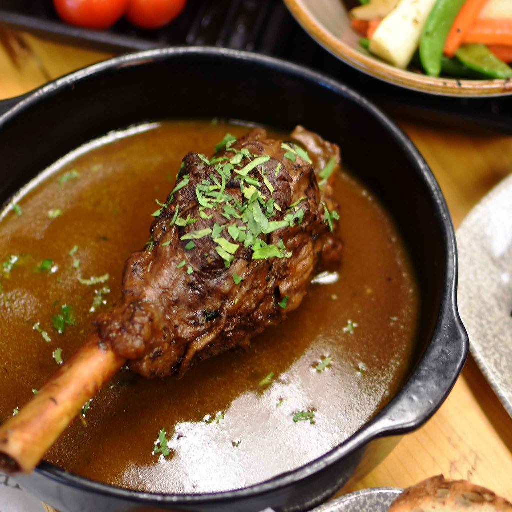Australian Mirrool creek lamb shank