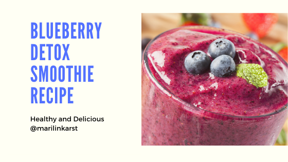 Blueberry Detox Smoothie!