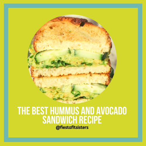 The best hummus and avocado toast recipe!